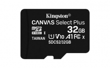 KINGSTON Memory Card MicroSD Canvas Select Plus SDCS2/32GBSP, Class 10,no SD Adapter