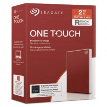 SEAGATE  HDD EXT. OneTouch HDD 2TB, STKB2000403, USB3.0, 2.5'', RED
