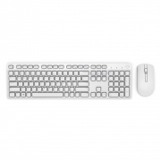 DELL Keyboard & Mouse KM636 US/Intrnational Wireless, White