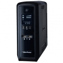 CYBERPOWER UPS Intelligent  CP1300EPFCLCD Line Interactive APFC LCD 1300VA
