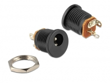 DELOCK Installation socket DC 2.5 x 5.5mm