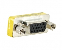 POWERTECH Adapter VGA 15pin θηλυκό σε VGA 15pin θηλυκό CAB-G005