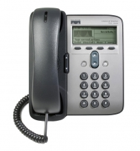 CISCO used IP Phone 7911G, POE, Dark Gray