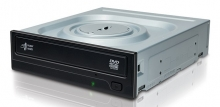 HLGS Super Multi DVD recorder GH24NSD5, M-Disc, 24x, SATA, μαύρο