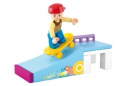 SLUBAN Τουβλάκια Girls Dream, Skate Ramp M38-B0512, 23τμχ