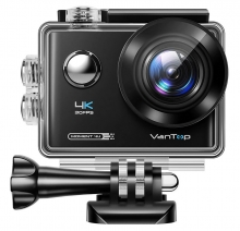 VANTOP action camera Μoment4U, 4K 30fps, 20MP, touch screen, μαύρη