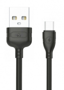 POWERTECH Καλώδιο USB σε Micro USB eco PTR-0054 copper, 1m , μαύρο