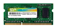 SILICON POWER Μνήμη DDR3 SODimm, 4GB, 1600MHz, PC3-12800, CL11