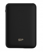 SILICON POWER Power Bank C100 10000mAh, 2x USB Output, Black