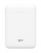 SILICON POWER Power Bank C50 5000mAh, 2x USB Output, White