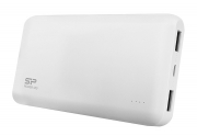 SILICON POWER Power Bank S50 5000mAh, 2x USB Output, White
