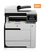 HP used Printer LaserJet Pro 300 M375NW, MFP, color, no toner