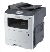 LEXMARK used MFP Printer MX410DE, Laser, Mono, με toner & drum