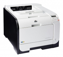 HP used Printer M451dn, Laser, Color, low toner