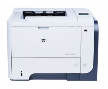 HP used Printer LaserJet Enterprise P3015dn, Monochrome, low toner