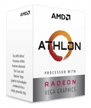 AMD CPU Athlon 3000G, 3.5GHz, 2 Cores, AM4, 5MB, Radeon Vega 3 Graphics