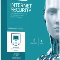 ESET Internet Security V10 3 Licenses, 1 Year