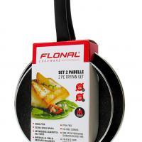 FLONAL Σετ τηγάνια αντικολλητικά GMFSET2PD 2 τεμαχίων 24/28cm