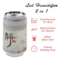 Led Humidifier 2 in 1 White