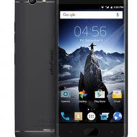 "ULEFONE Smartphone U008 Pro, 4G, 5"" HD, 2GB/16GB, Quad Core, Black"