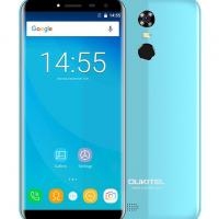 "OUKITEL Smartphone C8, 5.5"" HD, 2GB/16GB, Quad Core, 3000mAh, Blue"